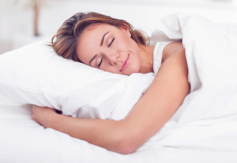 "Want better sleep? ""Count blessings… not sheep."""